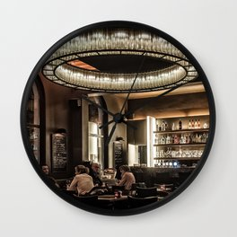 Dining in Style Wall Clock