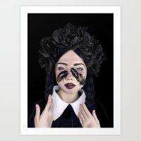 Blattaria Art Print