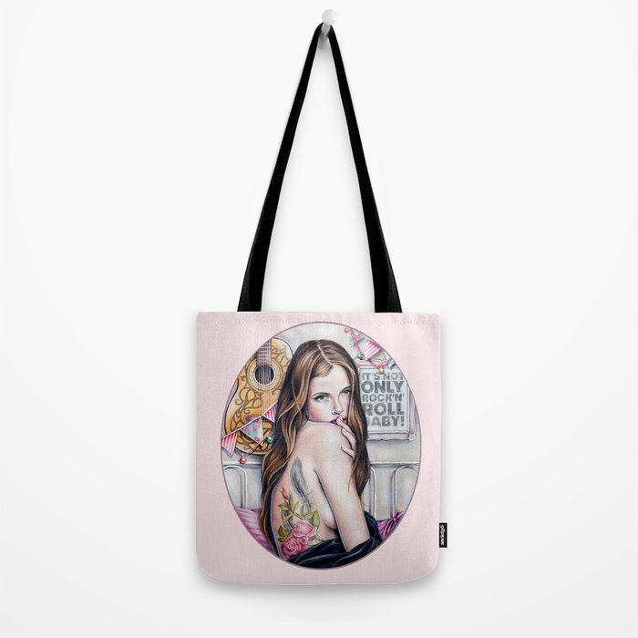 It's not only rock'n'roll baby Tote Bag