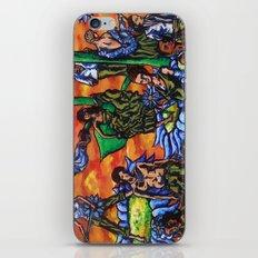 Blue Flower festival iPhone & iPod Skin