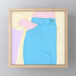 SECRET Framed Mini Art Print