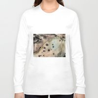 camus Long Sleeve T-shirts featuring Sisyphus by jbjart