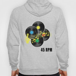 45 RPM Record Hipster LP Hoody