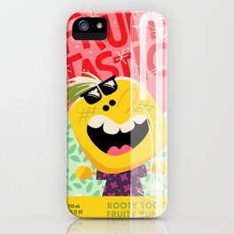 Rooty Tooty Fruity Punch iPhone Case