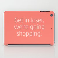 mean girls iPad Cases featuring Mean Girls #6 – Shopping by Enyalie