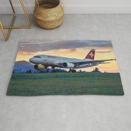 Swiss Air Journey Rug
