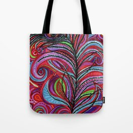A Bright Feather Tote Bag