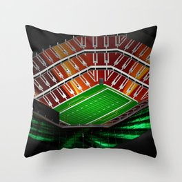 The Michigan Throw Pillow