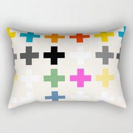 Crosses II Rectangular Pillow