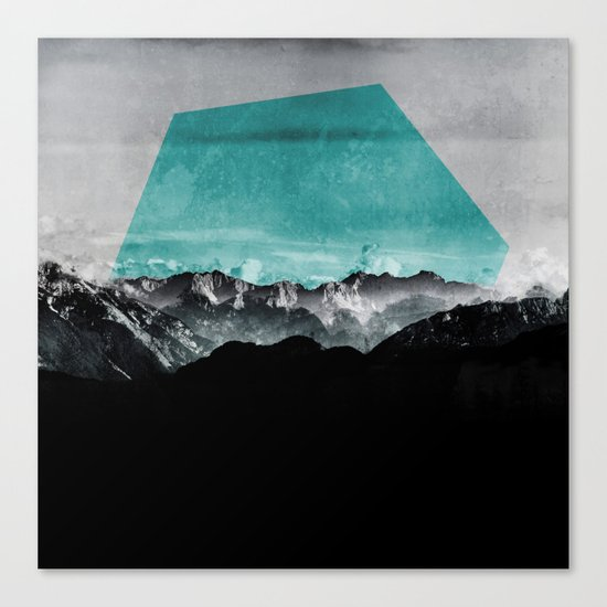 Mountains III Canvas Print