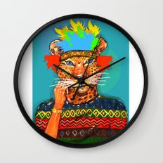 Navajo Dreams Wall Clock