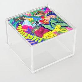 Jungle Party Animals Acrylic Box