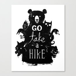 Go Take A Hike Canvas Print