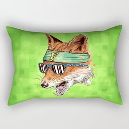 HIPSTER FOX Rectangular Pillow