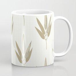 Wheat Stalks on Cream Coffee Mug