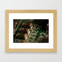 Game Boy Color Framed Art Print