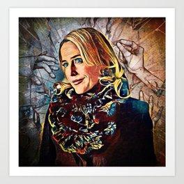 Bedelia Du Maurier - Ties that Bind Art Print