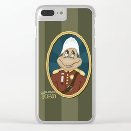 Colonel Toad, Adventurer Clear iPhone Case