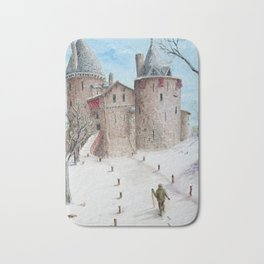 Castell Coch (Red Castle) - Winter Bath Mat