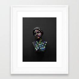 When She Thought of Stars Framed Art Print