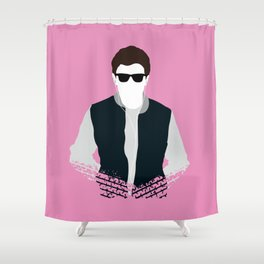 Was He Slow? Shower Curtain