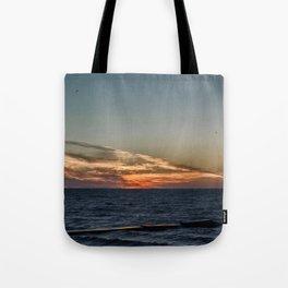 Summer sunset on lake Ontario Tote Bag