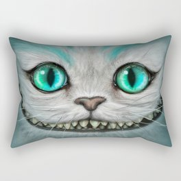 Smile Cat - CHESIRE Rectangular Pillow