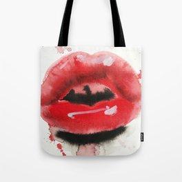 juicy lips Tote Bag