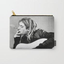Kurt Coba-in Smoking, Modern, Stylish Gift, Music icon, Nirvana., Carry-All Pouch