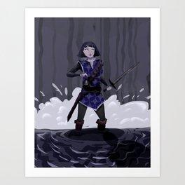 Sabriel Art Print