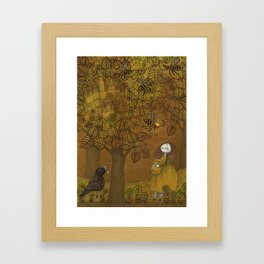The Queen of Bees and the Princess who loved Honey Framed Art Print