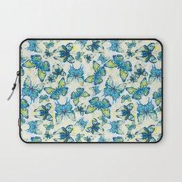 Butterfly's in a Spring Garden Laptop Sleeve