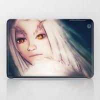 dark souls iPad Cases featuring Priscilla [Dark Souls] by JeyJey Artworks