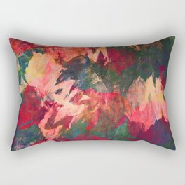 It's Complicated, Abstract Leaves Rectangular Pillow