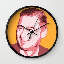 Dr. Seuss (Theodor Seuss Geisel) Wall Clock