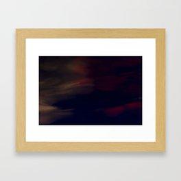 Blurred Reflections Framed Art Print