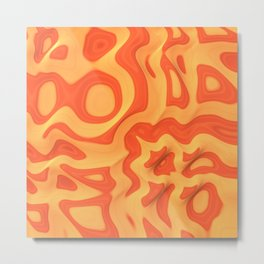 Orange: The Fun Color Metal Print
