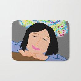Dreaming Away the Gray Bath Mat