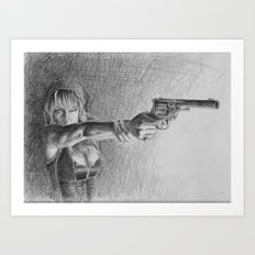 fuck you. pay me. Art Print