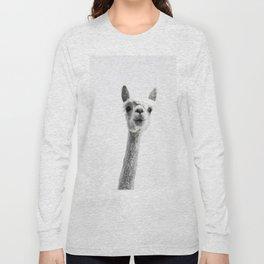 alpaca #society6 #decor #buyart Long Sleeve T-shirt