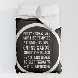 Hoist The Black Flag Comforters