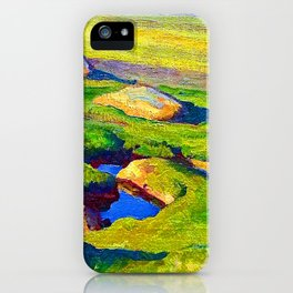 Maynard Dixon Glacial Meadow iPhone Case