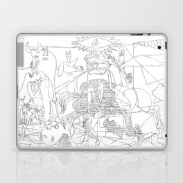 Picasso Line Art - Guernica Laptop & iPad Skin