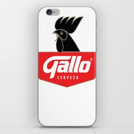 Gallo Cerveza - Best Beer In Guatemala Central America iPhone Skin