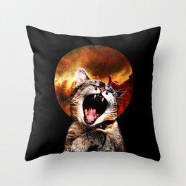 CATarsis Throw Pillow