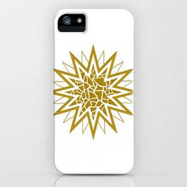 Star (gold) iPhone Case