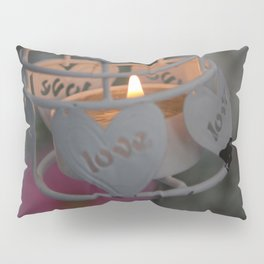 Love candle light Pillow Sham