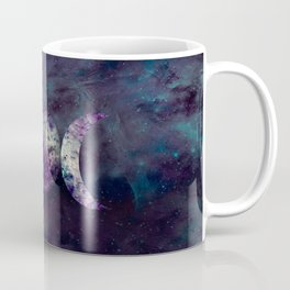 Triple Moon Goddess Universe Coffee Mug