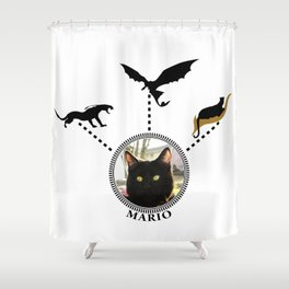 Mario's Acting Career Shower Curtain