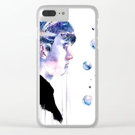 Cosmos. Clear iPhone Case